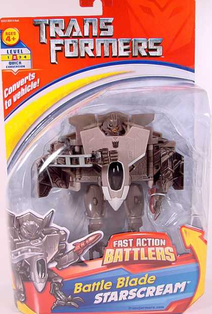 Action Figure Boxes - Transformers Battle Blade Starscream