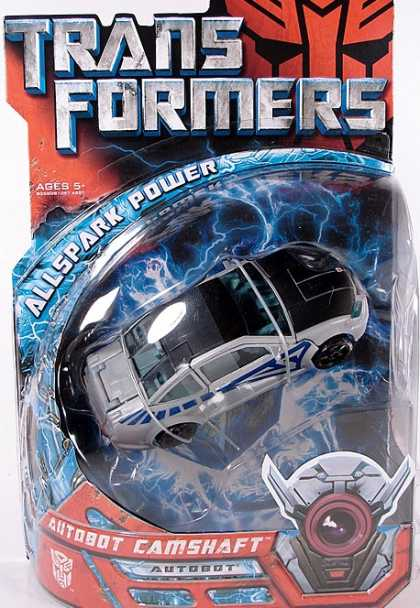 Action Figure Boxes - Transformers: Autobot Camshaft