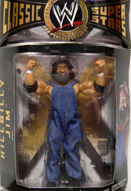 Action Figure Boxes - WWE: Hillbilly Jim