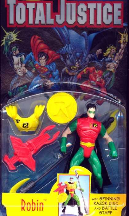 Action Figure Boxes - Total Justice: Robin