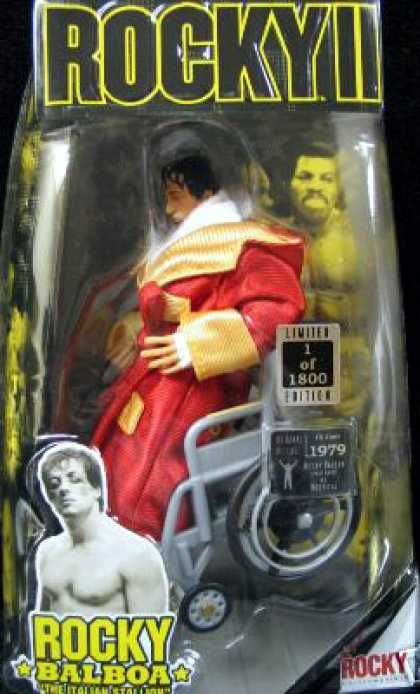 Action Figure Boxes - Rocky Balboa