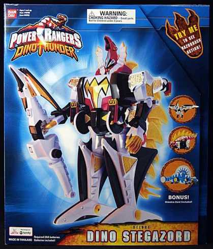 Action Figure Boxes - Power Rangers: Dino Stegazord