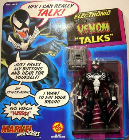 Action Figure Boxes - Venom