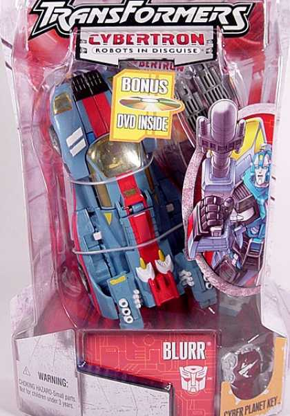 Action Figure Boxes - Transformers: Blurr
