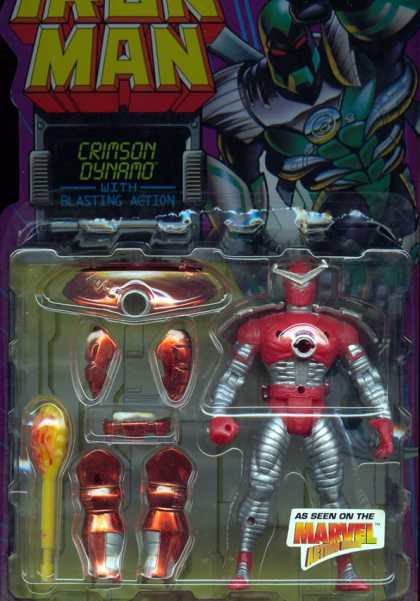 Action Figure Boxes - Iron Man Crimson Dynamo