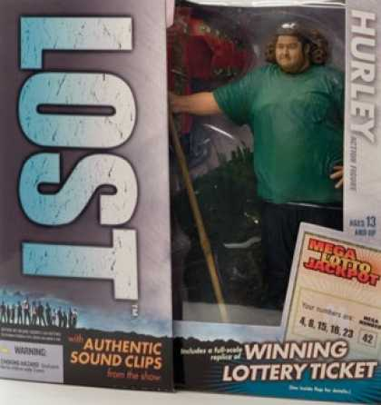 Action Figure Boxes - Lost: Hurley