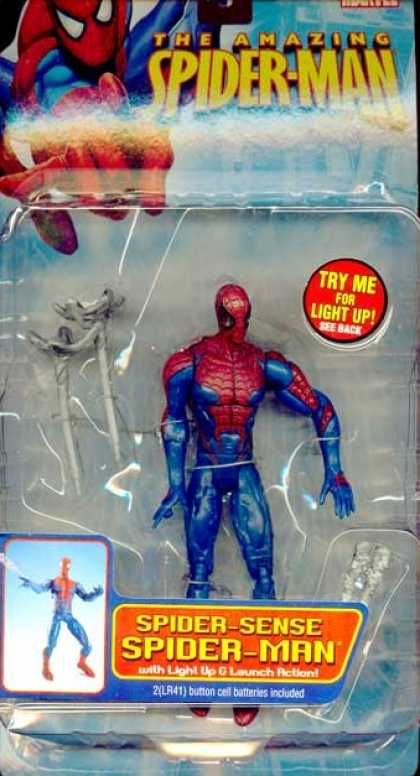 Action Figure Boxes - Spider-Sense Spider-Man