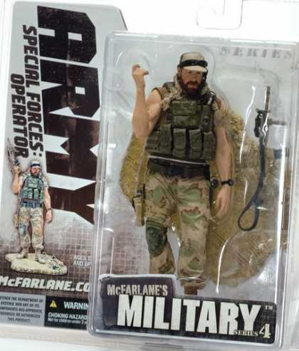 Action Figure Boxes - Army Special Forces Operator