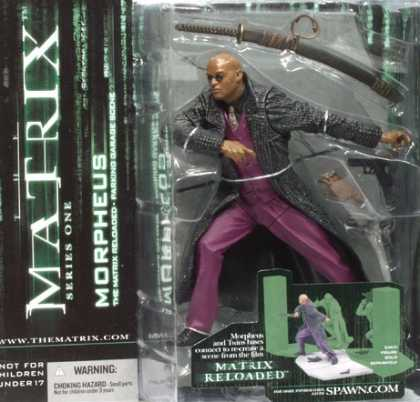 Action Figure Boxes - Matrix: Morpheus