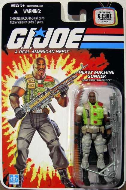 Action Figure Boxes - G.I. Joe: Heavy Machine Gunner Roadblock