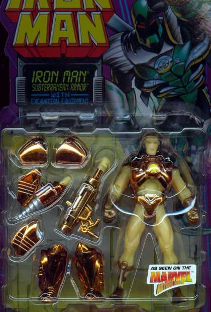 Action Figure Boxes - Iron Man Subterranean Armor