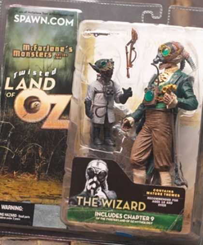 Action Figure Boxes - Twister Land of Oz: The Wizard