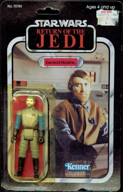Action Figure Boxes - Star Wars: General Madine