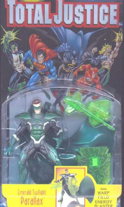 Action Figure Boxes - Total Justice: parallax