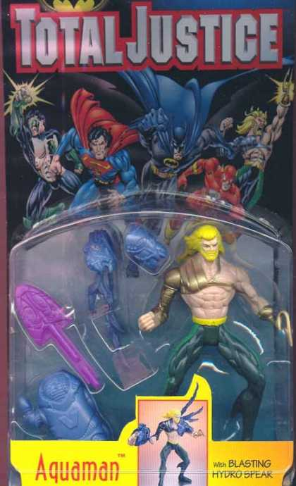 Action Figure Boxes - Total Justice: Aquaman
