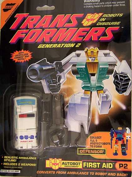 Action Figure Boxes - Transformers: Autobot