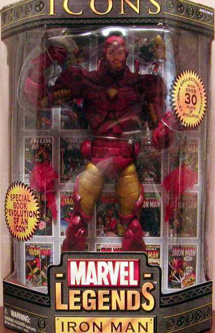 Action Figure Boxes - Iron Man