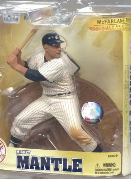 Action Figure Boxes - Baseball: Mickey Mantle