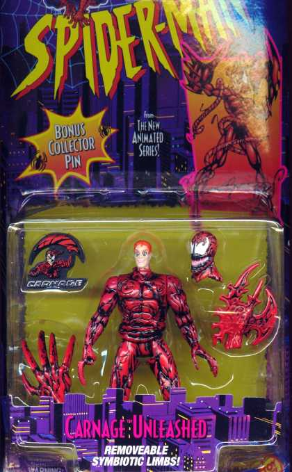 Action Figure Boxes - Spider-Man: Carnage
