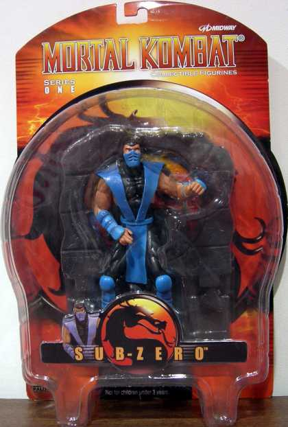Action Figure Boxes - Mortal Kombat: Sub-Zero