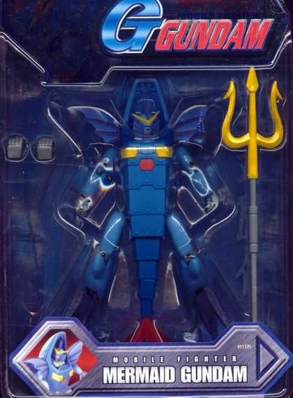 Action Figure Boxes - Mermaid Gundam