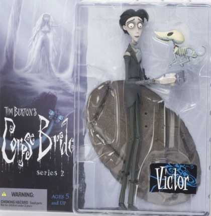 Action Figure Boxes - Tim Burton's Corpse Bride: Victor