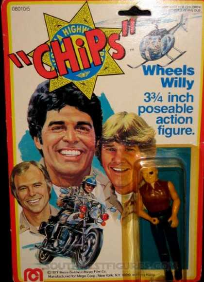 Action Figure Boxes - Chips: Wheels Willy