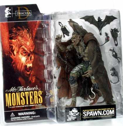 Action Figure Boxes - Monsters