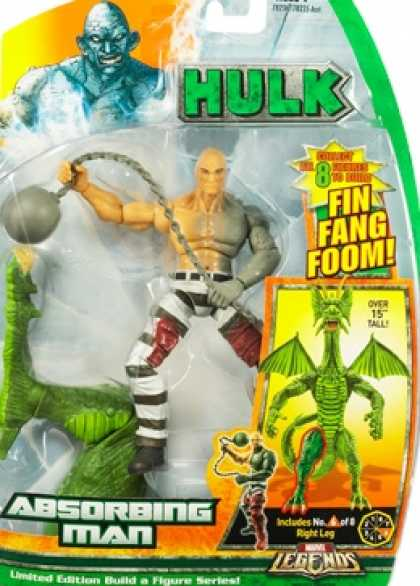 Action Figure Boxes - Hulk Absorbing Man