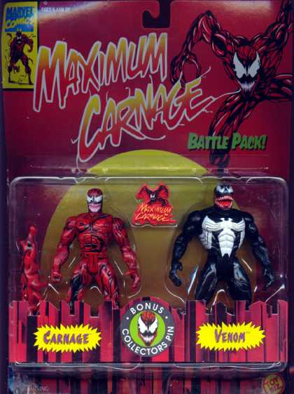 Action Figure Boxes - Carnage and Venom