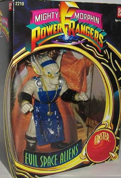 Action Figure Boxes - Power Rangers: Evil Space Alien Finster