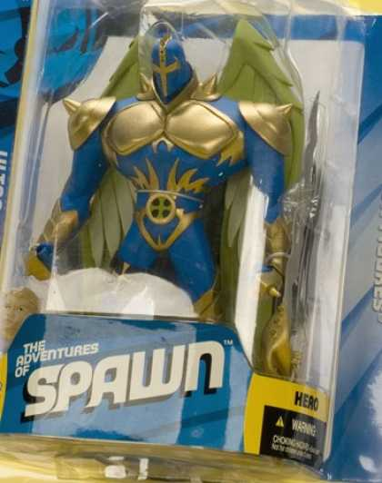 Action Figure Boxes - Adventures of Spawn