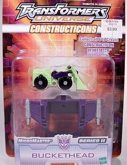 Action Figure Boxes - Transformers Buckethead