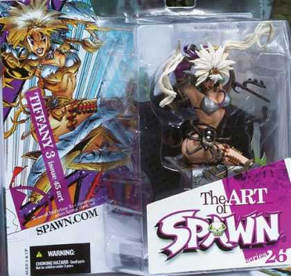 Action Figure Boxes - Art of Spawn: Tiffany