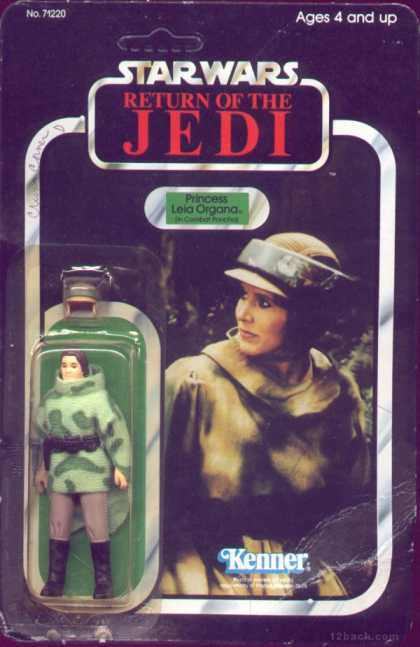 Action Figure Boxes - Star Wars: Princess Leia Organa