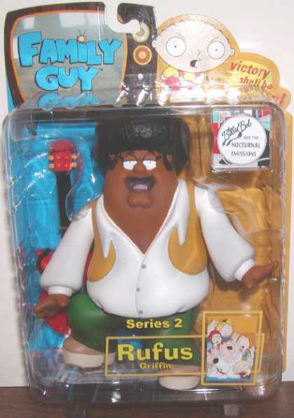 Action Figure Boxes - Family Guy: Rufus