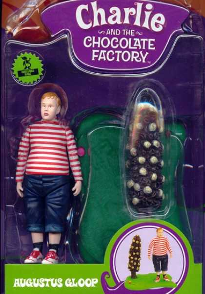 Action Figure Boxes - Charlie and the Chocolate Factory: Augustus Gloop