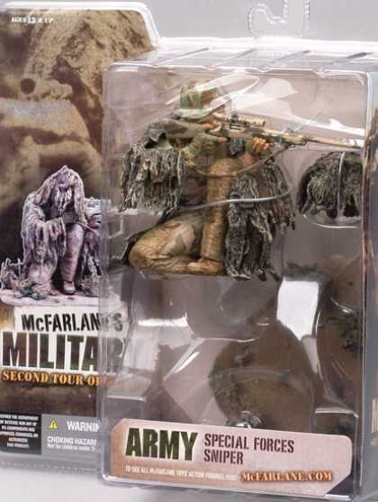 Action Figure Boxes - Arma Special Forces Sniper