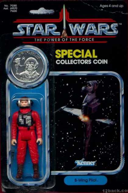 Action Figure Boxes - Star Wars: B-Wing Pilot