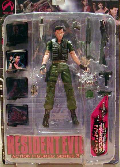 Action Figure Boxes - Resident Evil