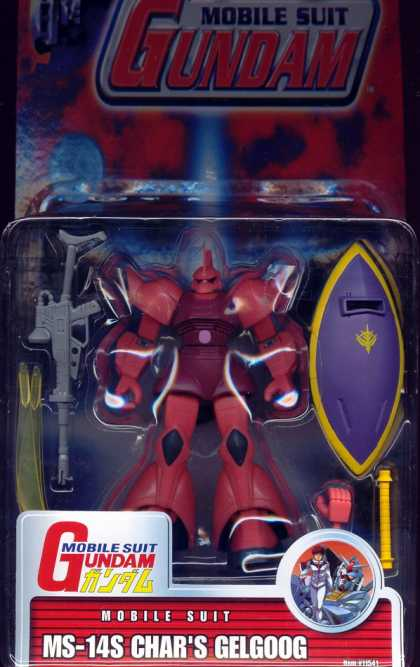 Action Figure Boxes - Mobile Suit Gundam: MS-14S Char's Gelgoog
