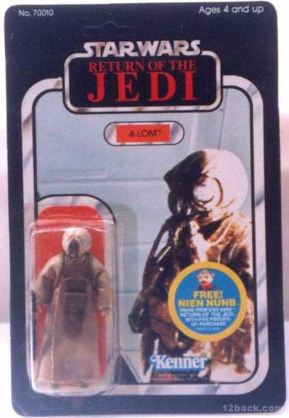 Action Figure Boxes - Star Wars: 4-Lom