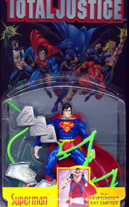 Action Figure Boxes - Total Justice: Superman