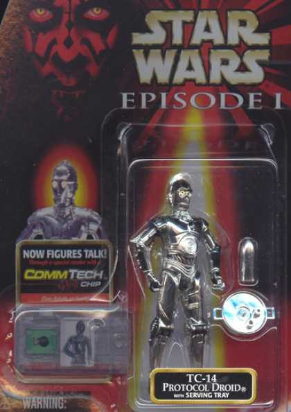 Action Figure Boxes - Star Wars TC-14 Protocol Droid
