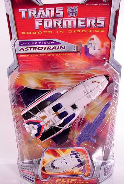 Action Figure Boxes - Transformers Astrotrain