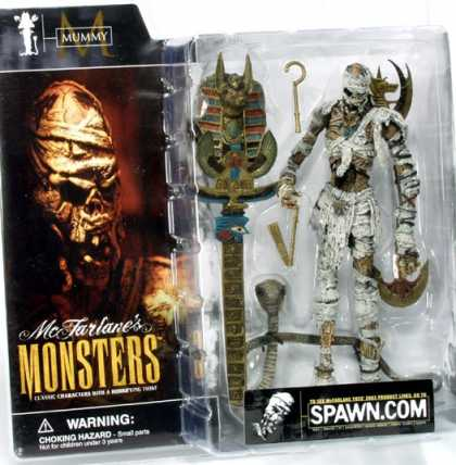 Action Figure Boxes - Monster: Mummy