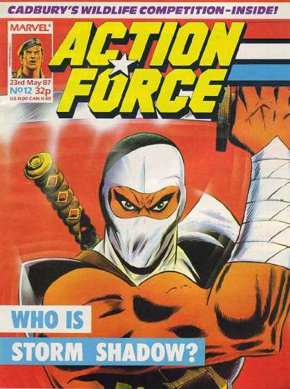 Action Force 12 - Storm - Shadow - Ninja - Gi - Joe