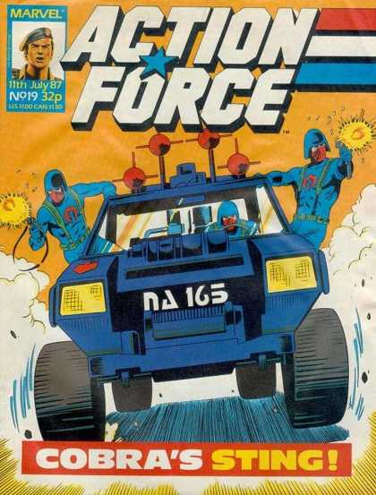 Action Force 19