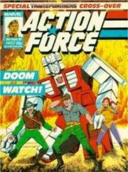 Action Force 27 - Doom Watch - Marvel - Transformers - Robot - Cross-over