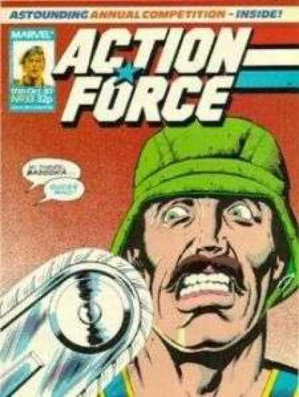 Action Force 33 - Red - Action - Captions - Thrill - Fear